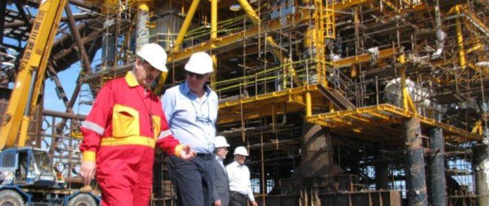 Qeshm Yard Preparation & Foroozan F18 Jacket & Pile Fabrication